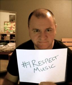I respect music