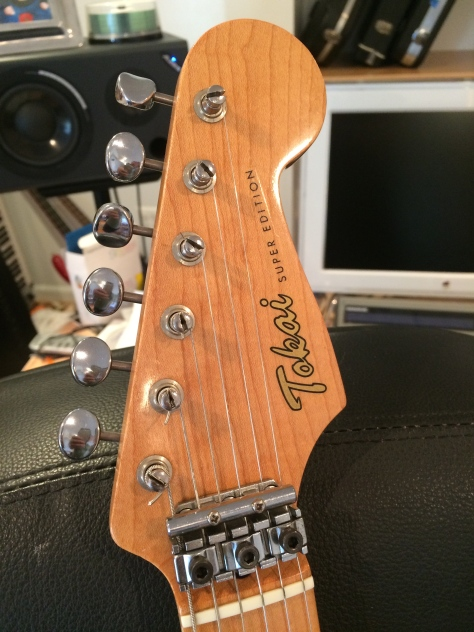 Tokai Super Edition VS-80 Headstock